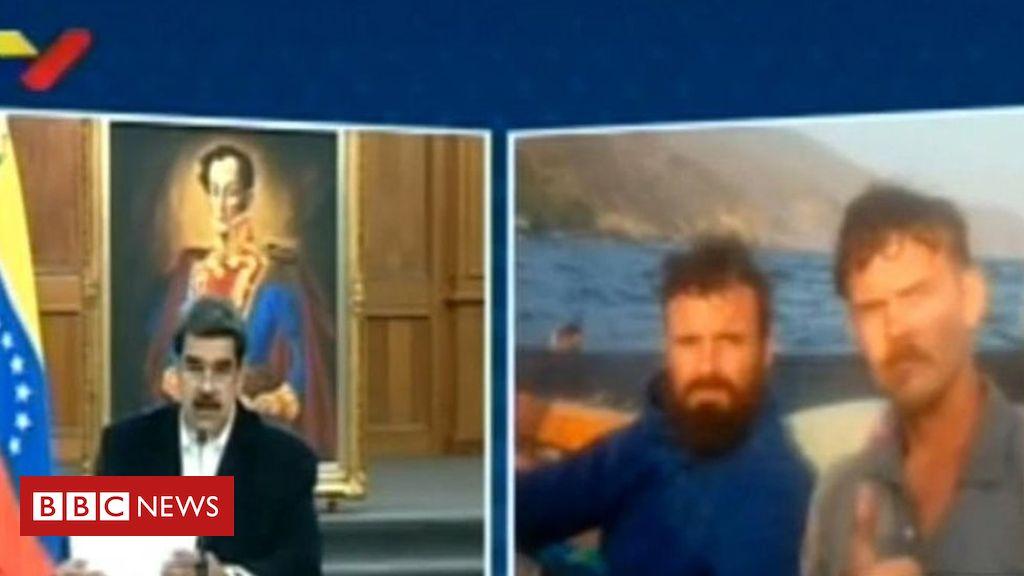 Photo of Venezuela TV shows 'US citizens confessing over failed coup'