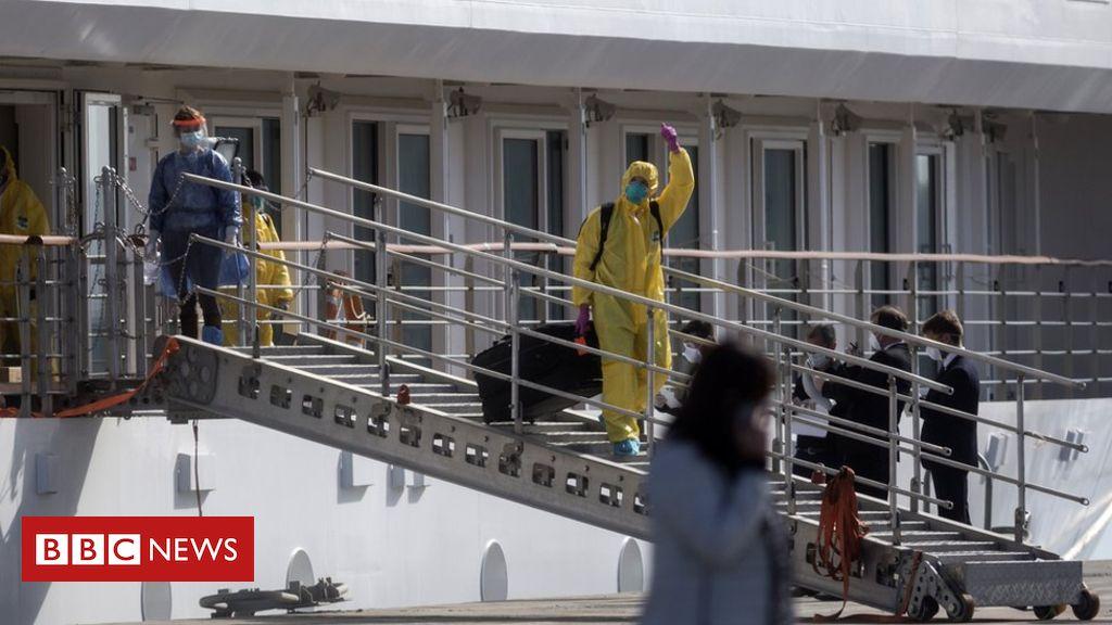 Photo of Coronavirus: Crew on virus-hit cruise ship allowed to disembark in Uruguay