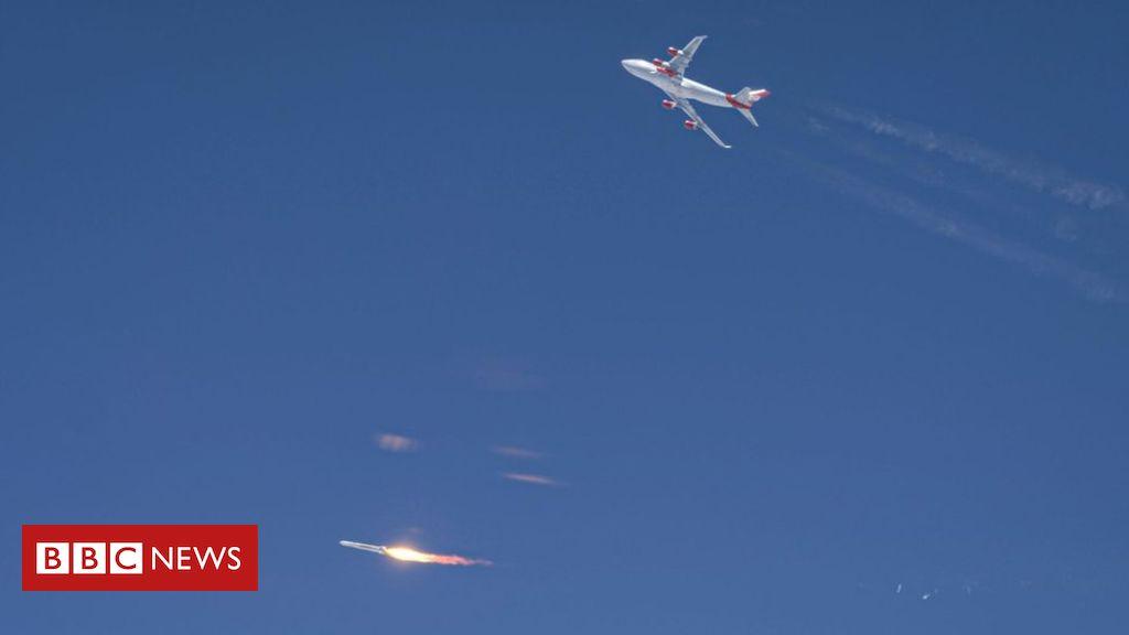 Photo of Sir Richard Branson: Virgin Orbit rocket fails on debut flight