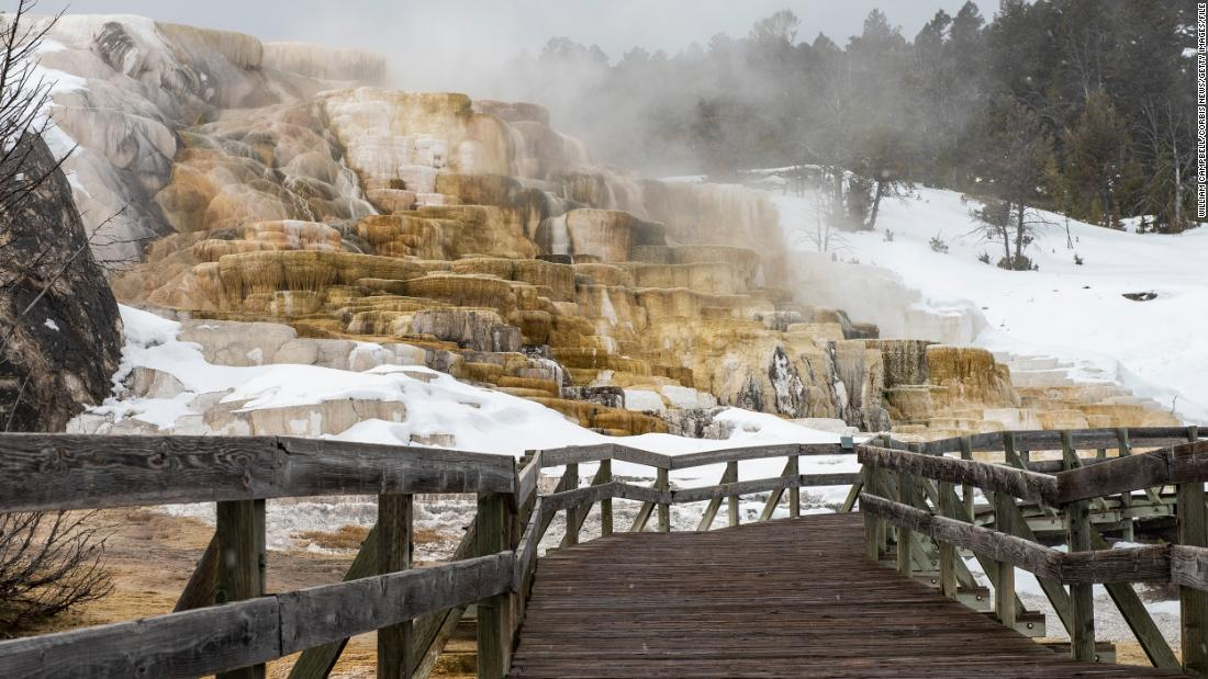 Photo of A woman suffers burns after illegally entering Yellowstone National Park, park officials say