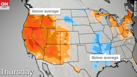 Photo of The western US will bake in record heat this week