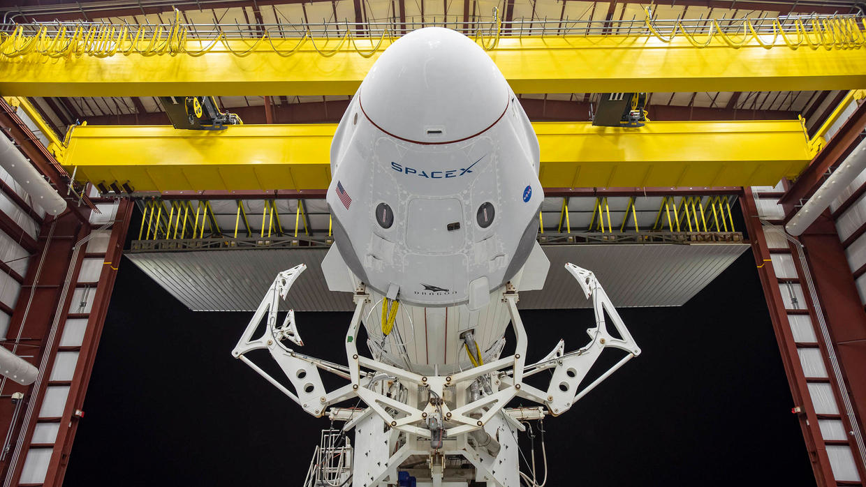 Photo of SpaceX set for historic launch as human spaceflight enters new era