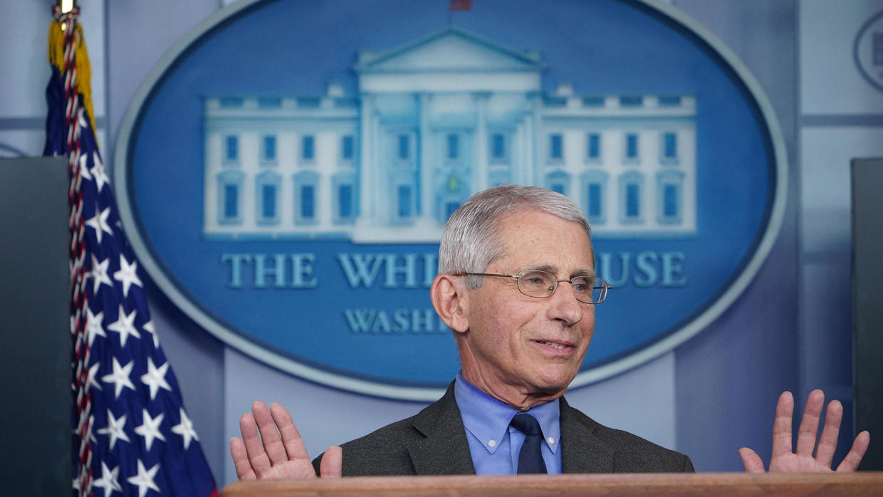 Photo of Three White House task force members, including Fauci, in self-quarantine after Covid-19 exposure