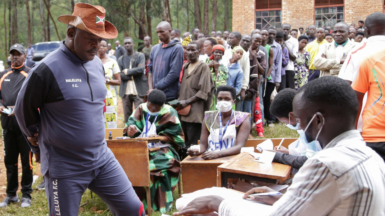Photo of Burundi expected to announce results of presidential election Monday