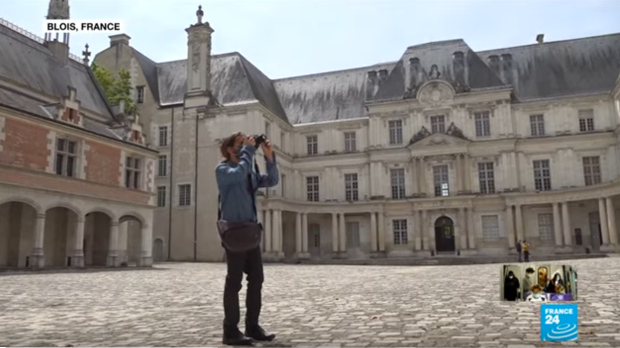 Photo of Frances medieval chateaus reopen to tourists after two months of lockdown