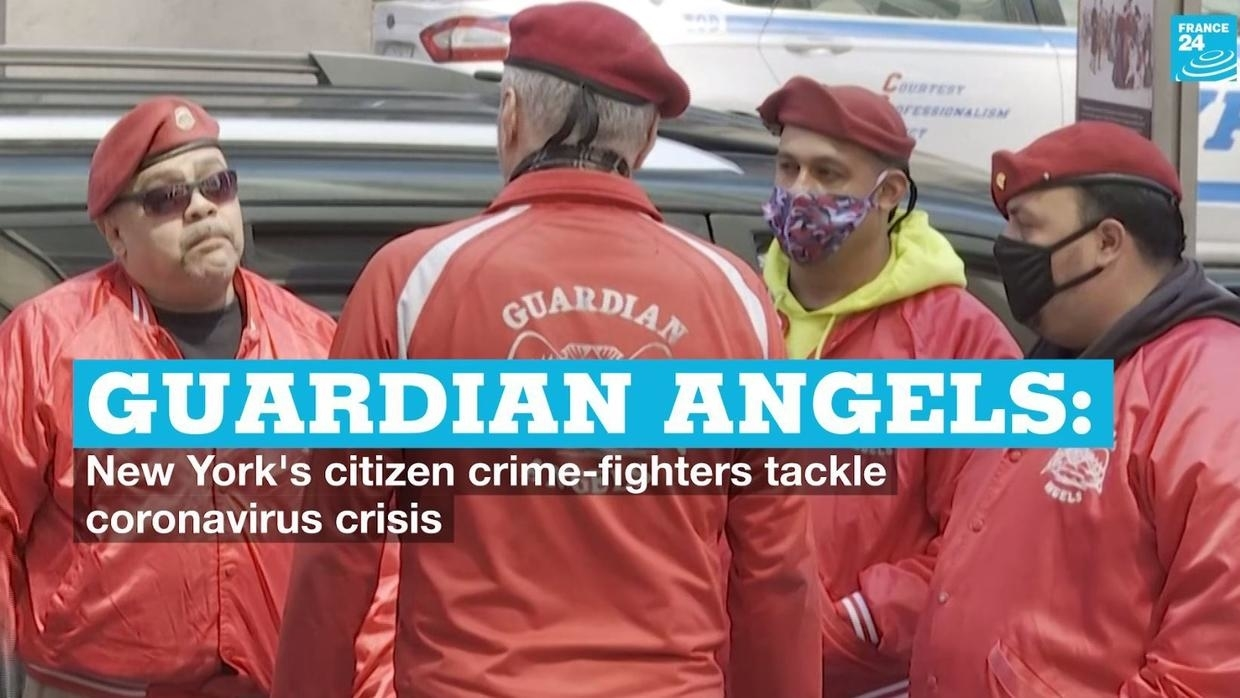 Photo of Guardian Angels: New York citizen crime-fighters tackle Covid-19 crisis
