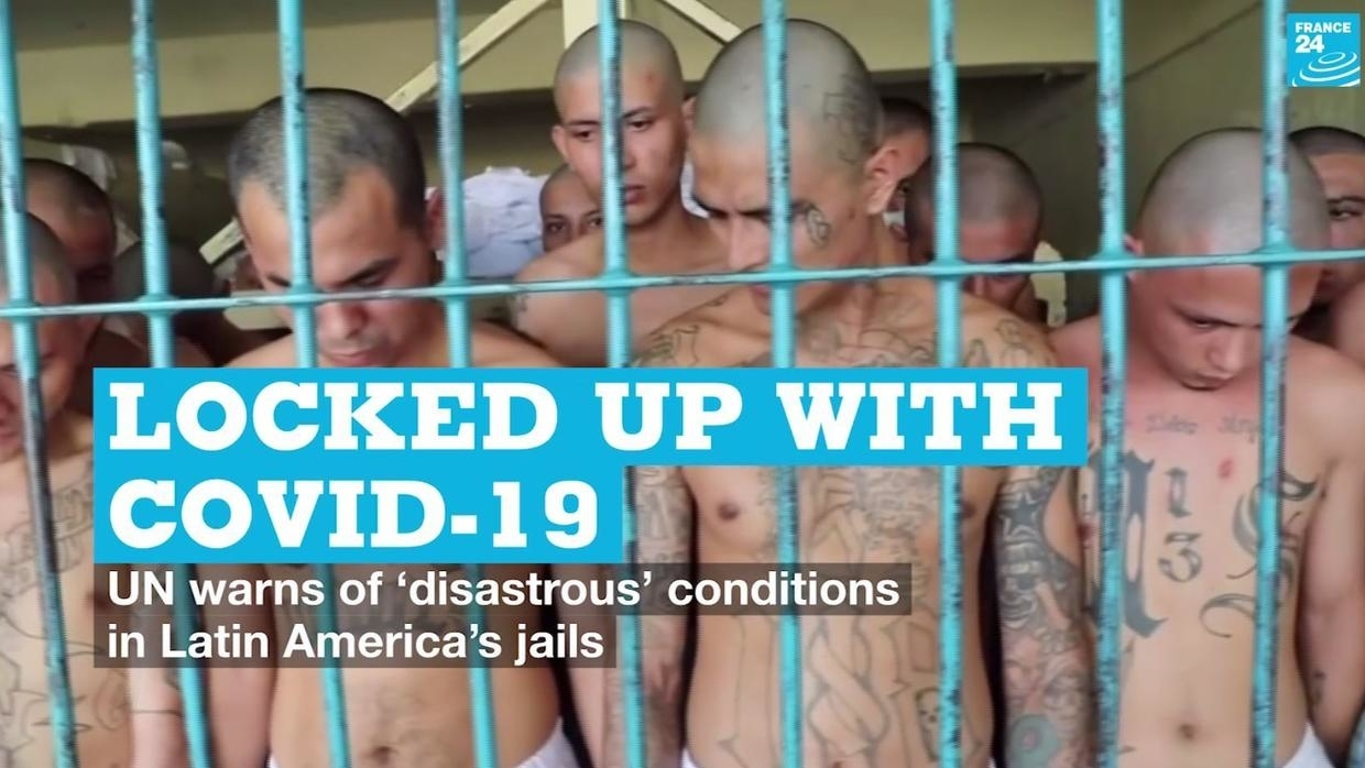 Photo of Locked up with Covid-19: UN warns of disastrous conditions in Latin Americas jails