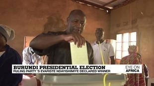 Photo of Burundi presidential election: ruling party's Evariste Ndayishimiye declared winner