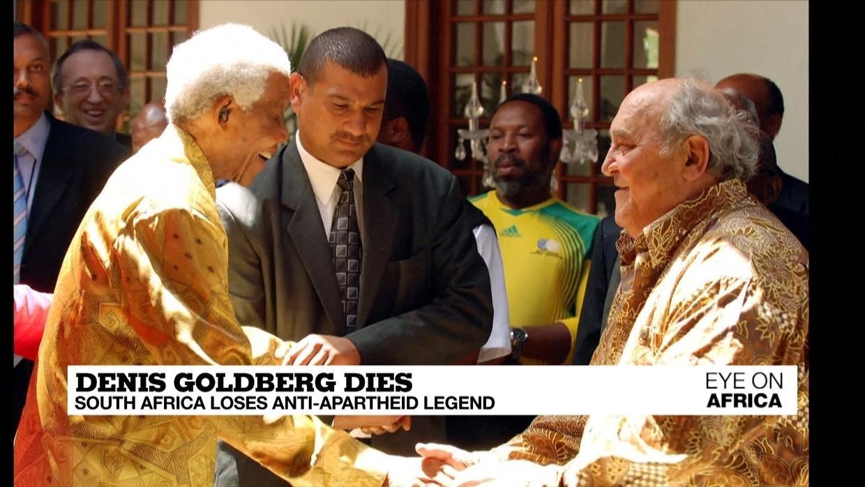 Photo of Anti-apartheid veteran Denis Goldberg dies