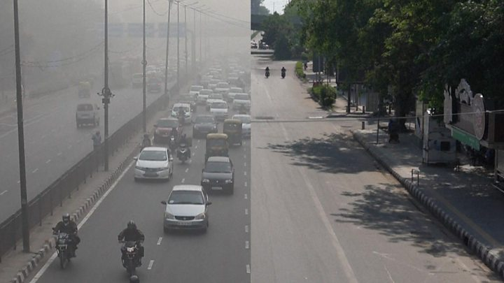 Photo of From lockdown to gridlock: Asias traffic resumes after fall in pollution