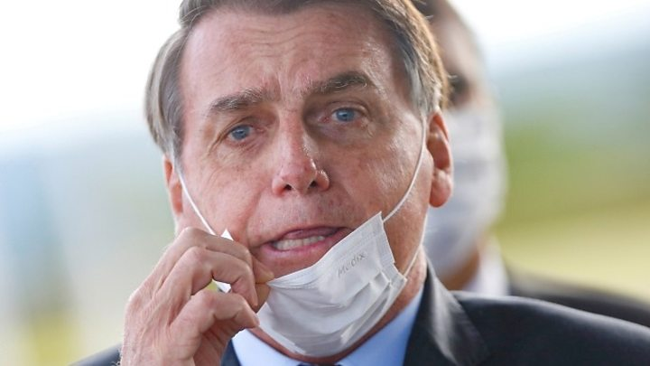 Photo of Brazil court releases foul-mouthed Bolsonaro video