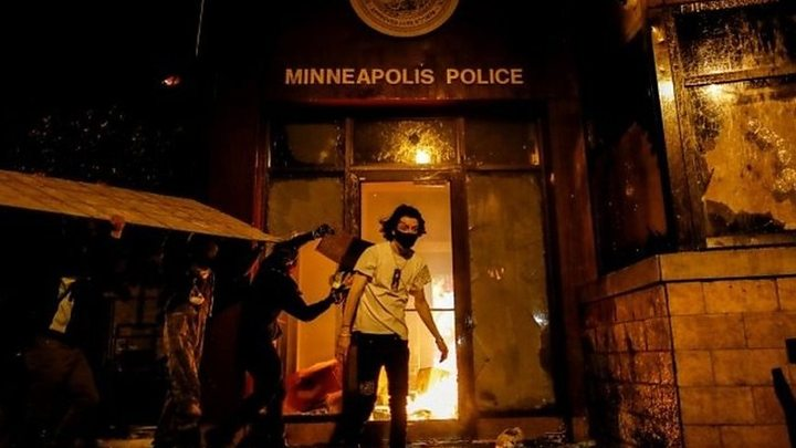 Photo of George Floyd death: Clashes across US as protesters demand justice
