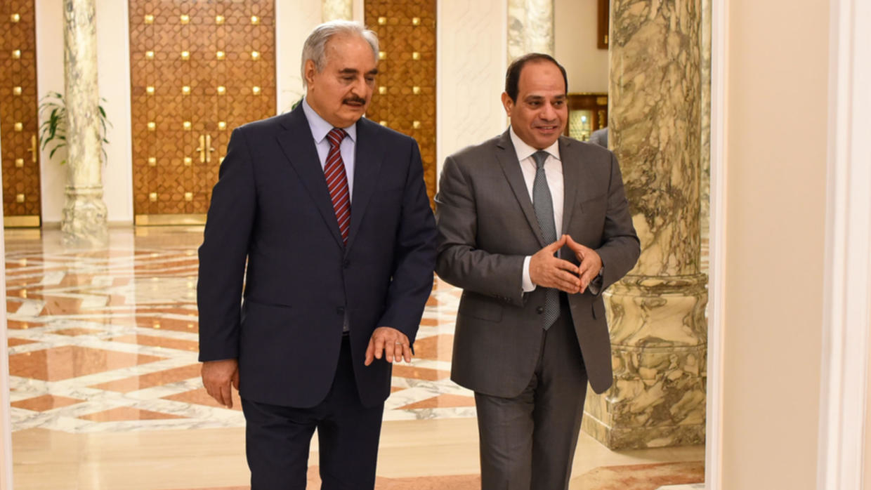 Photo of Egypt announces new plan to end war in Libya as Haftar offensive loses ground