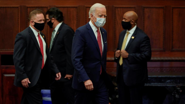 Photo of US presidential candidate Joe Biden to meet George Floyd's family in Houston
