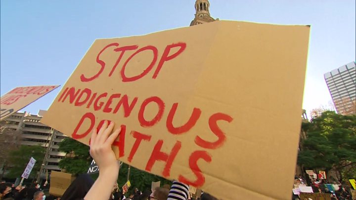 Photo of George Floyd death: Australians defy virus in mass anti-racism rallies