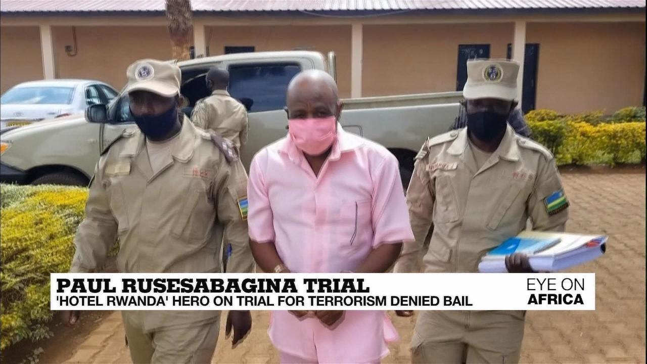 Photo of Paul Rusesabagina trial: 'Hotel Rwanda' hero on trial for terrorism denied bail
