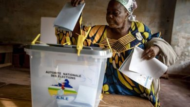 Photo of Ongoing Election Ballot Counting in the Central African Republic