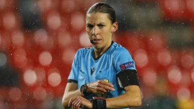 Photo of France's Stephanie Frappart will be the first woman to referee a men's Champions League match