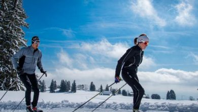 Photo of France's Jura Mountains, a paradise for cross-country skiers