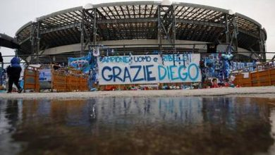 Photo of Napoli stadium renamed after Maradona in honour of its footballing legend