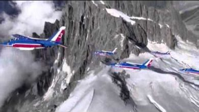 Photo of Kings of the sky: The pilots of the Patrouille de France