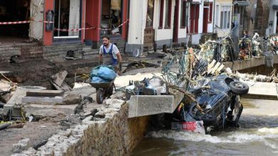 Photo of Merkel to visit areas devastated by floods in Germany as death toll tops 180 in Europe