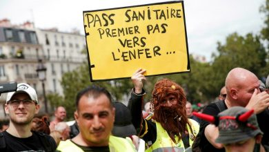 Photo of French prime minister Castex defends anti-vaccination protesters right to rally
