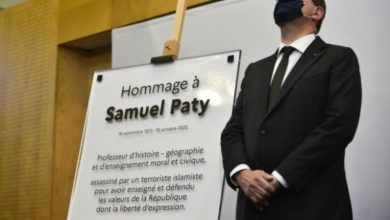 Photo of French PM pays tribute to slain teacher Samuel Paty on anniversary of his death