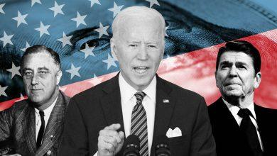 Photo of Biden returns to retail politics to rescue his biggest deal yet
