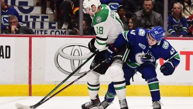 Photo of Canucks center Jason Dickinson isn't afraid to stand up for what he believes – .